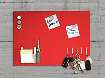 Master Of Boards Magnetic Memo Board, Stainless Steel Message Board | Ideal  For Kitchen |