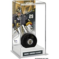 $115 » Marc-Andre Fleury Vegas Golden Knights Autographed Puck with Deluxe Tall Hockey Puck Case - Fanatics Authentic Certified