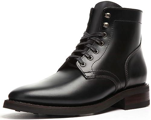 c69258fd3 Thursday Boot Company Botas con Cordones de Presidente para Hombre 10,5 D  (M) US Negro: Amazon.es: Zapatos y complementos