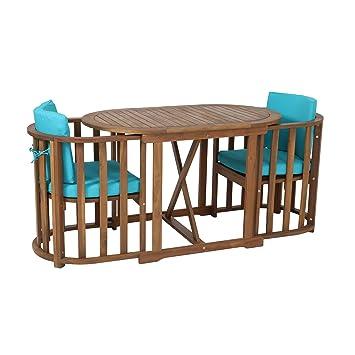 Greemotion Ensemble Chaise Et Table Bistrot Borkum Table De Jardin