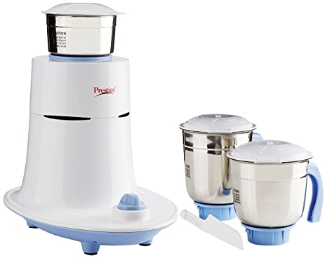 Prestige Mist 550 Watts Mixer Grinder 3 Jars White Mixer Grinders at amazon