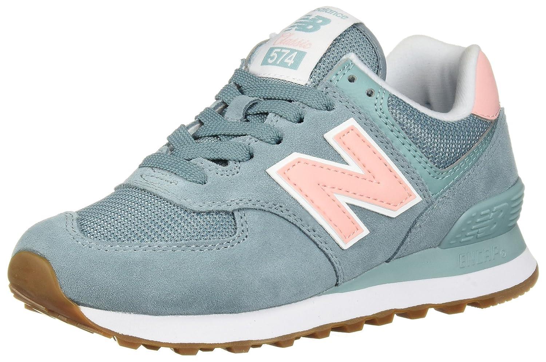 New Balance Women's 574v2 Sneaker B075R84PK7 9 D US|Smoke Blue