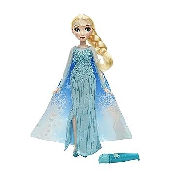 Disney Frozen - Muñeca Elsa con capa mágica (Hasbro B6700ES00) n0gH7fdL0