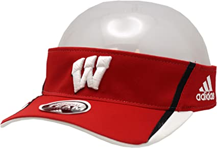 Amazon.com  Wisconsin Badgers Visor Adjustable Official Team  Sports ... f7a145fa501