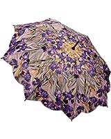 """Galleria Van Gogh """"Irises"""" Auto Open Stick Umbrella (Irises)"""