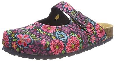 Supersoft Damen 276 057 Pantoffeln, Mehrfarbig (Navy Multi), 37 EU