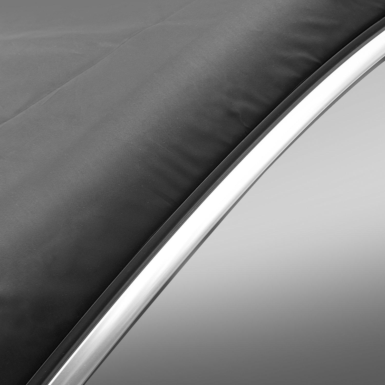 SCM Protector de parabrisas para, Aodoor coche Funda protectora antihielo para parabrisas magnéticos, Antihielo y Nieve Rayos UV Parasol plegable 215 ...