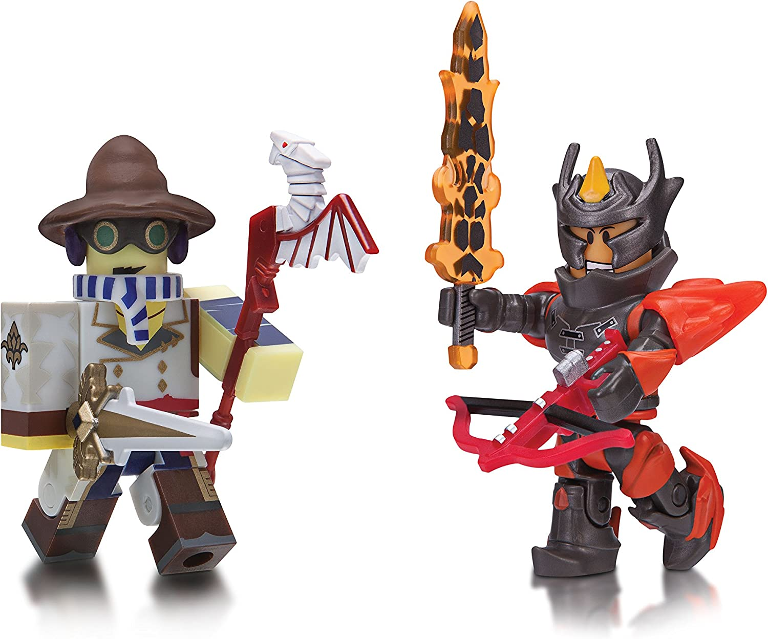 Roblox Figure 2-Pack, Archmage Arms Dealer and Flame Guard General