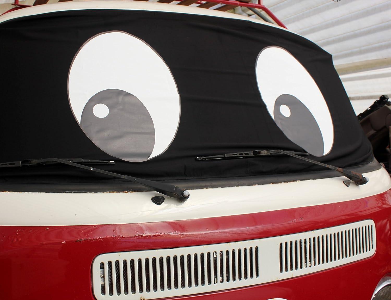 Felix T2/bah/ía ventana de furgoneta Camper Protector de Wrap cubierta Transporter Frost negro Ciegos ojos
