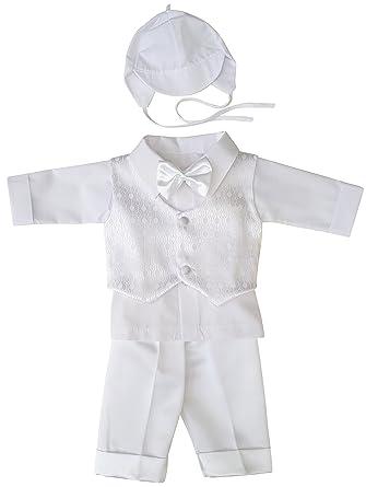 Richelieur Baby Jungen Taufbekleidung Taufanzug Festlich 3