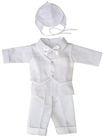 YES - Costume de baptême - Bébé (garçon) 0 à 24 mois  Amazon.fr ... 8f671ea91e6