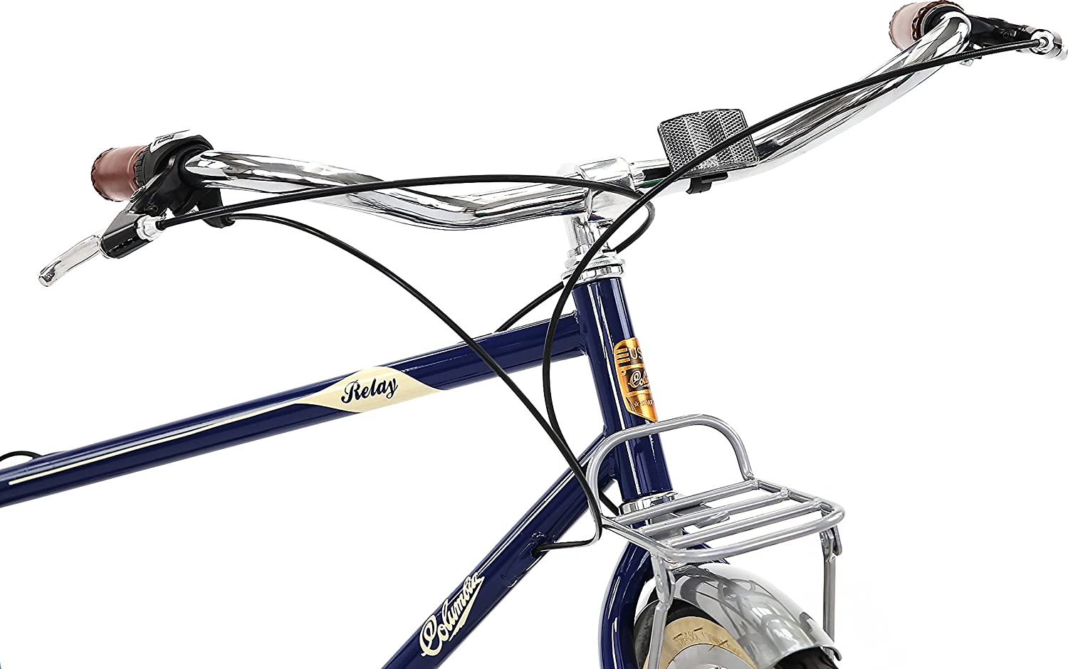 Columbia Bicycles Relay 700c Mens Vintage 3 Speed City Electric Bike Cruiser Blue 18 One Size Sports Outdoors