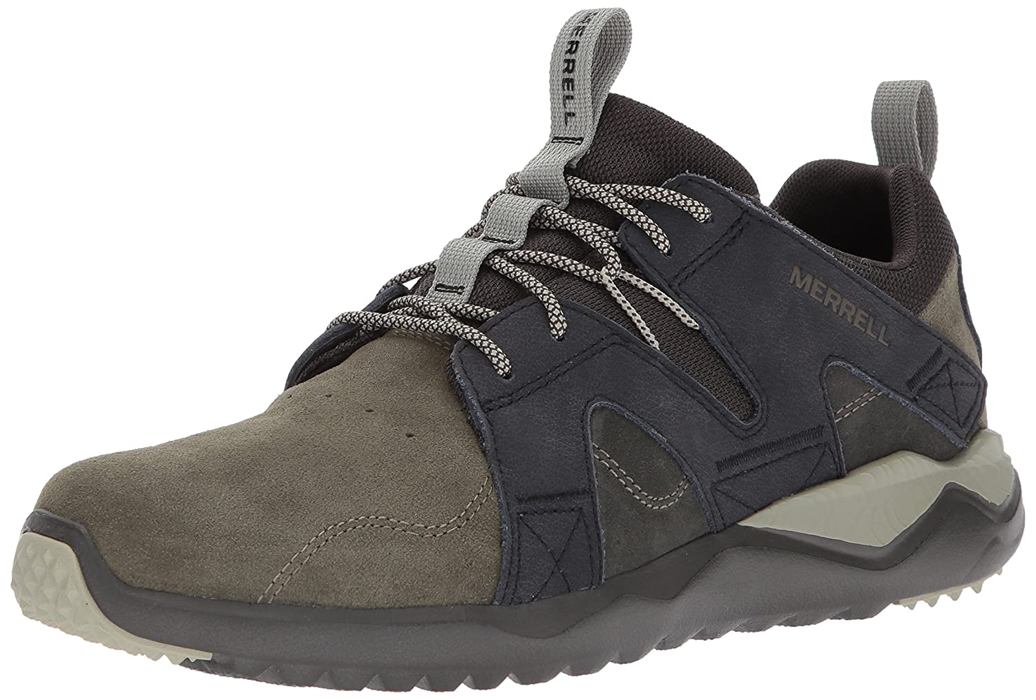 Vert (Dusty Olive) Merrell 1six8 Lace LTR, paniers Homme