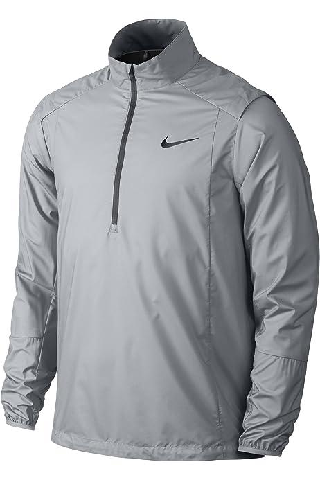 Desviarse llevar a cabo Disturbio  Amazon.com: Nike Golf Mens Hyperadapt Storm-Fit Full Zip Jacket (X-Large,  Black/Volt): Clothing