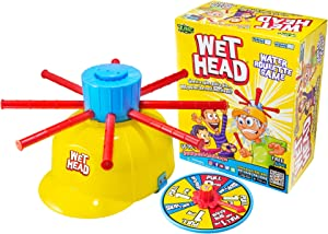 ZING Wet Head Game; Great for indoor / outdoor play with friends and family, Great for boys and girls for 4 years and up