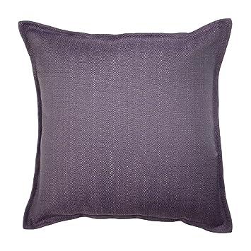 Amazon McAlister Savannah Large Decorative Pillow Cover 40x40 Amazing Aubergine Decorative Pillows