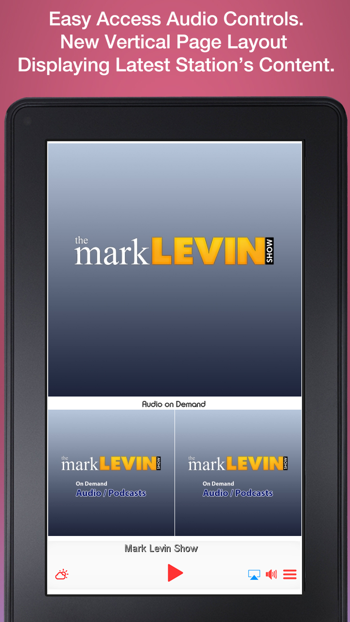 Mark Levin Show - Apps on Google Play
