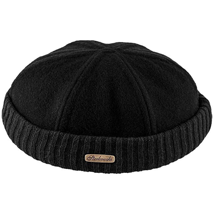 8769687ac1 Sterkowski Wool Beanie Docker Cap  Amazon.co.uk  Clothing