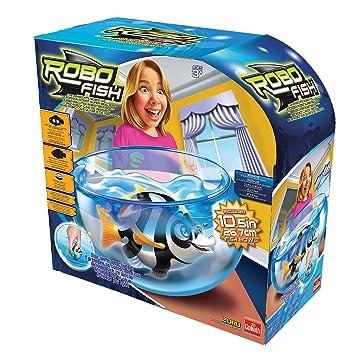 Goliath 32.678 Robo Fish Deep Sea Wimplefish - Set de Juego con Acuario: Amazon.es: Juguetes y juegos