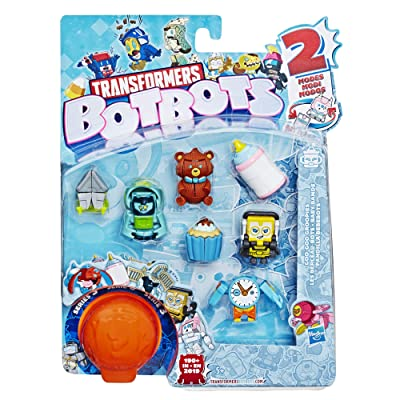 Transformers Toys Botbots Series 3 Goo-Goo Groopies 8 Pack – Mystery 2-in-1 Collectible Figures! Kids Ages 5 & Up (Styles & Colors May Vary) by Hasbro: Toys & Games