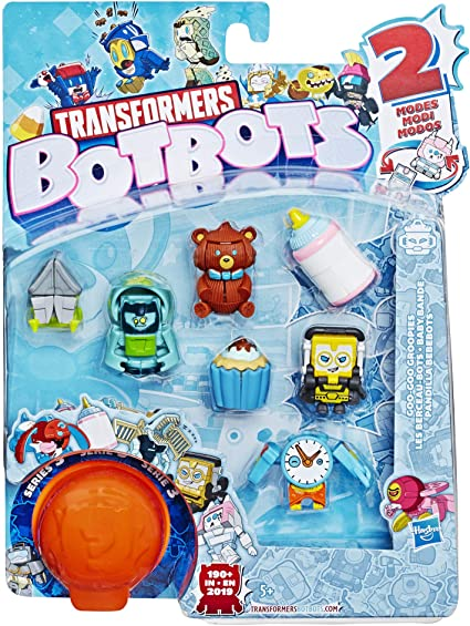 Transformers BotBots Series 3--5 Pack  brand new