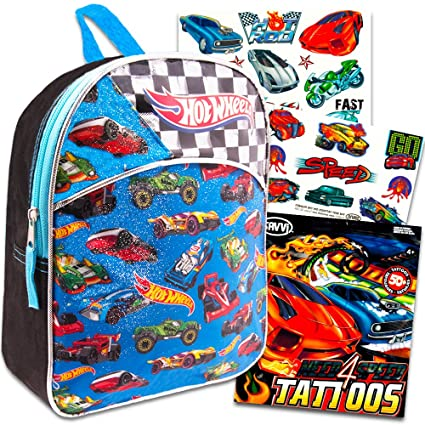 Amazon Com Hot Wheels Mini Backpack For Boys Kids Toddlers
