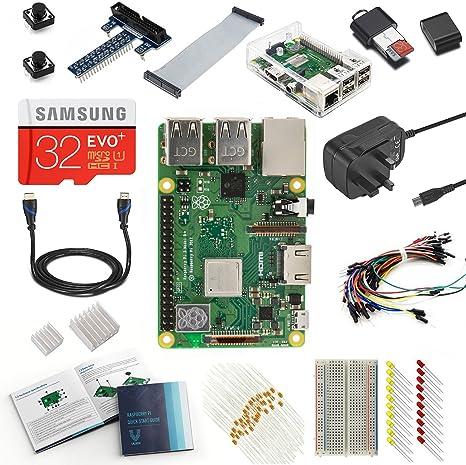 Raspberry Pi Modelo B+ Parent RP 3 Model B+ Ultimate Kit: Amazon.es: Informática