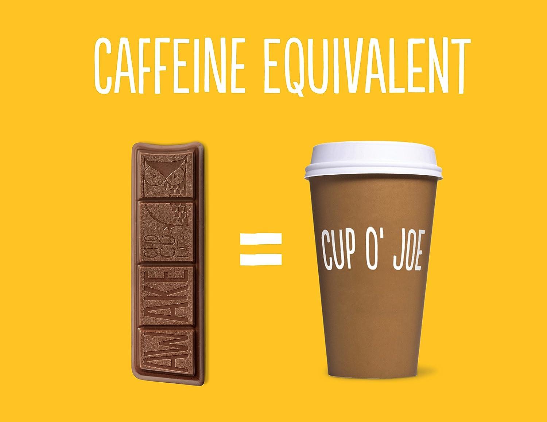 Amazon.com : Awake Chocolate Caffeinated Caramel Bar, 1.55 Ounce ...