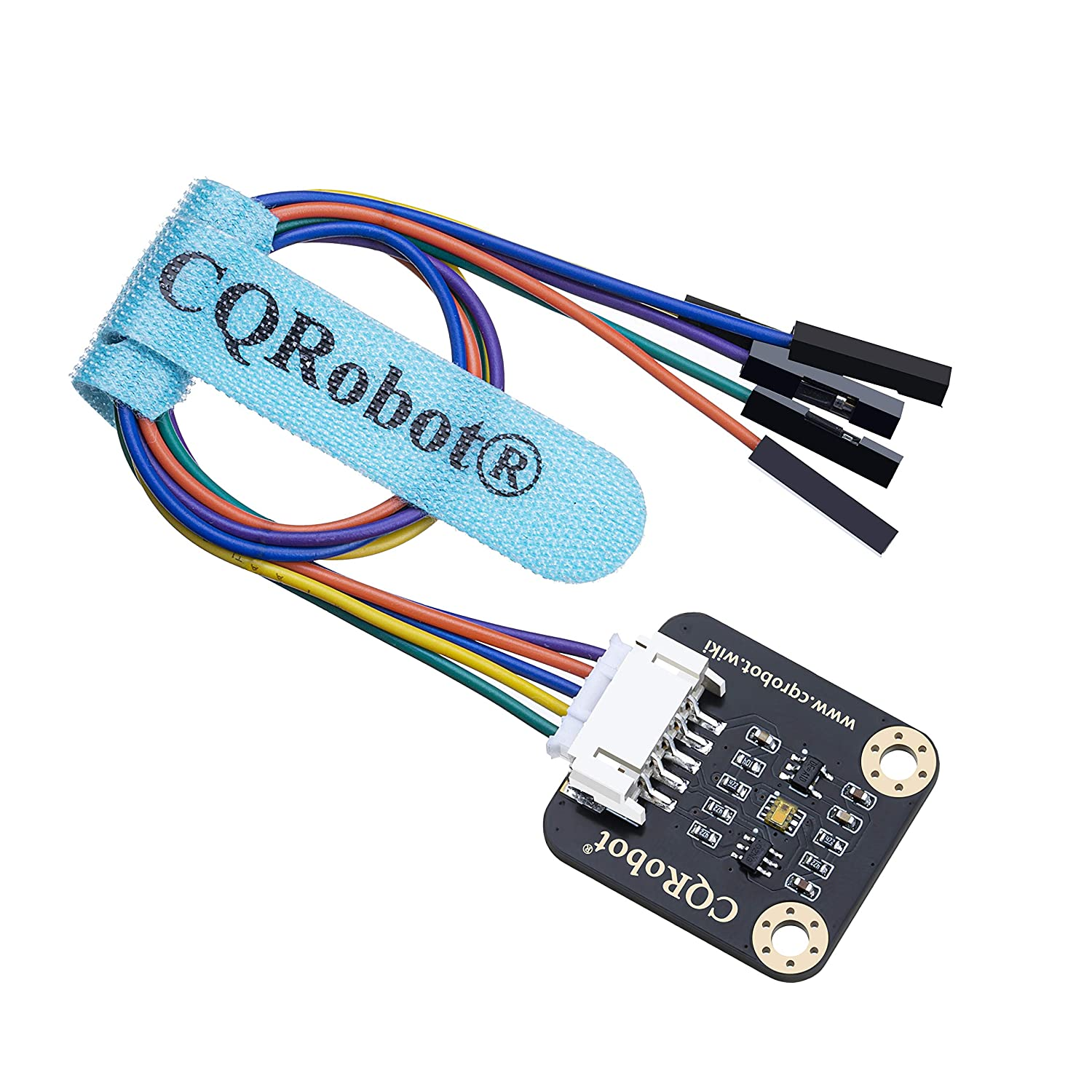 Built-in TSL25911FN chip CQRobot Ambient Light Sensor for Raspberry Pi//Arduino//STM32 Controlled via I2C Interface. Features 600M:1 Wide Dynamic Range Detects Light Intensity up to 88000Lux