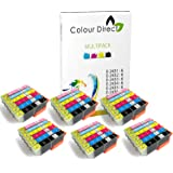 36 (6 Impostatos ) Colour Direct Compatibile Cartucce d'inchiostro Sostituzione Per Epson Expression Foto XP-55 XP-750 XP-760 XP-850 XP-860 XP-950 XP-960 24XL