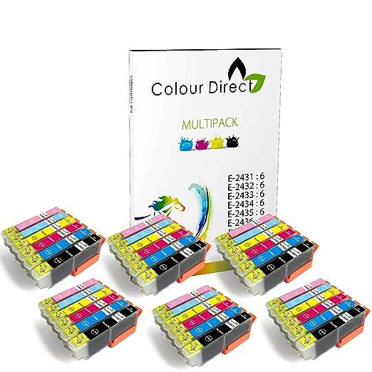 5 opinioni per 36 (6 Sets ) Colour Direct Compatibile Cartucce d'inchiostro Sostituzione Per