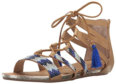 d0bb9088c84 Kenneth Cole REACTION Women s Lost Look 2 Gladiator Sandal Almond 5 ...