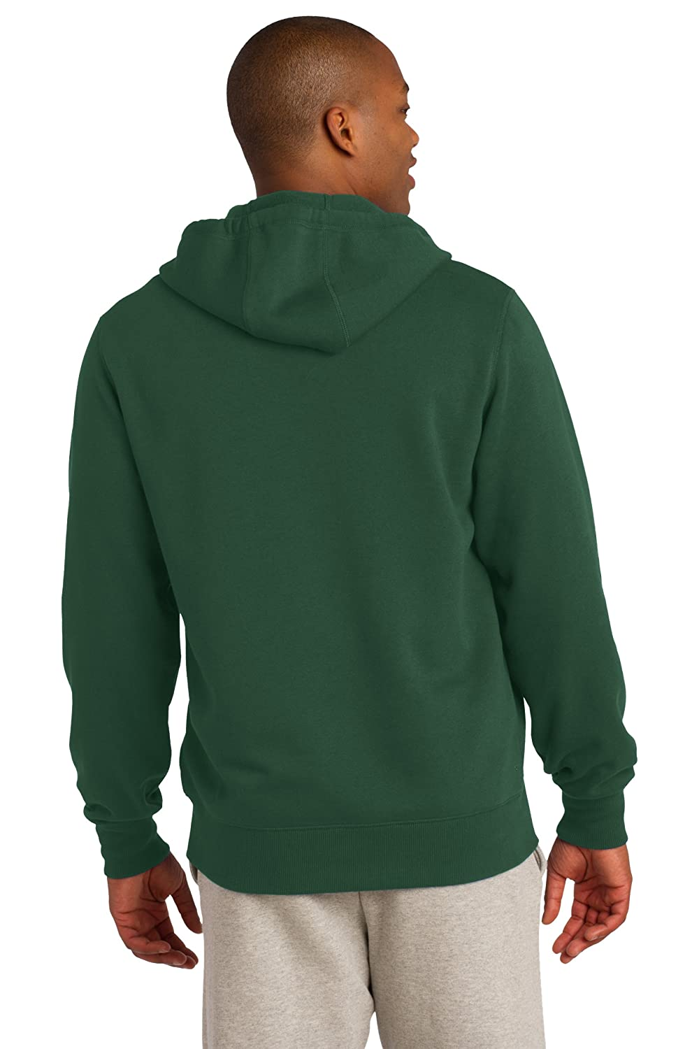 27fe446b54f Amazon.com  Sport-Tek Men s Full-Zip Hooded Sweatshirt