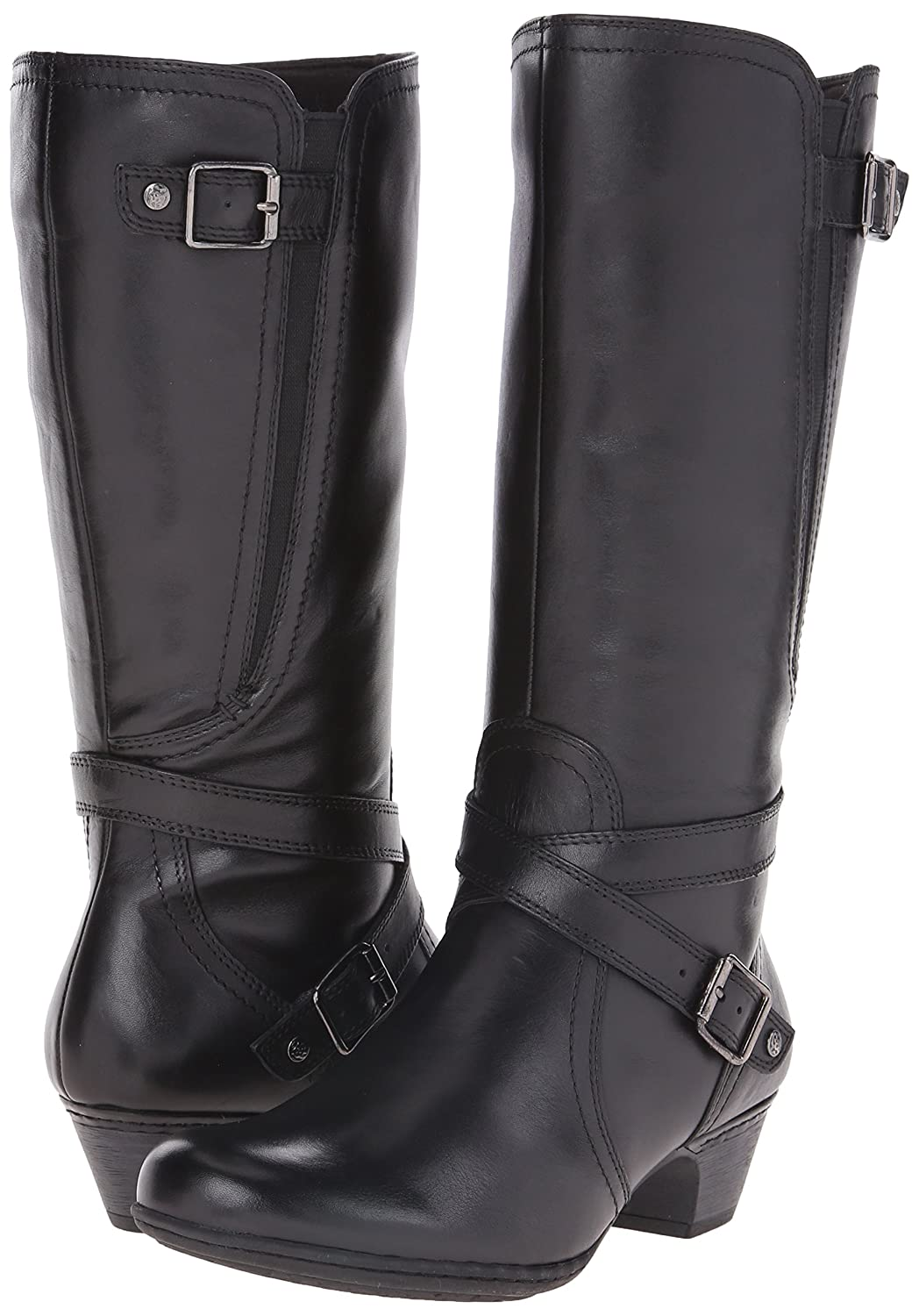 Women's Ashlyn Strappy Leather Boots - DeluxeAdultCostumes.com