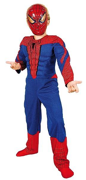 Marvel E100-002 - Disfraz de spiderman para niño (5 años): Amazon ...