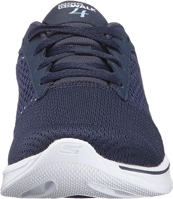 Skechers Go Walk 4 - Exceed, Zapatillas para Mujer: Amazon.es: Zapatos y complementos