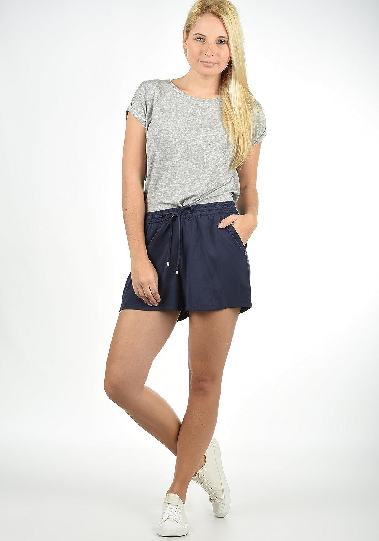 BlendShe Amal Pantaloncini Chino Shorts Panno Corti da Donna