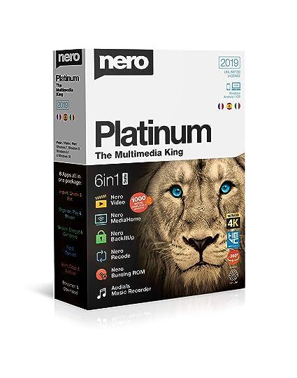 Resultado de imagen de Nero Platinum 2019