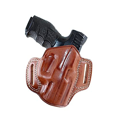 Amazon com : Leather Pancake Holster (OWB) for Smith Wesson MP