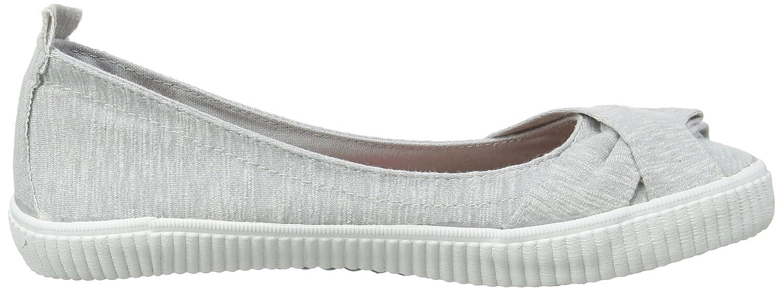 Sansa, Zapatillas sin Cordones para Mujer, Gris (Grey Ocean Wave 174), 36 EU Blowfish