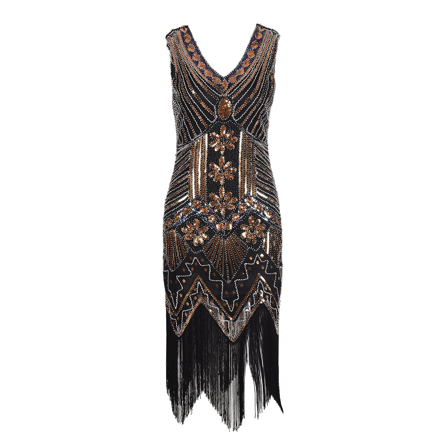 Sequin Dress Gatsby Dresses - Flapper Dress Evening Dress for Women   Amazon.ca  Clothing   Accessories 17359832b4be