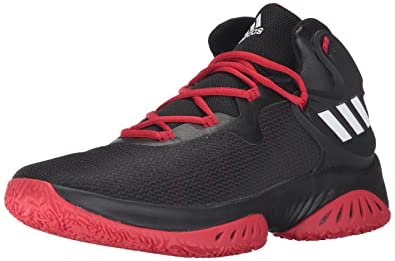 adidas Performance Men\u0027s Shoes | Explosive Bounce Basketball, Black/White/Scarlet,  (