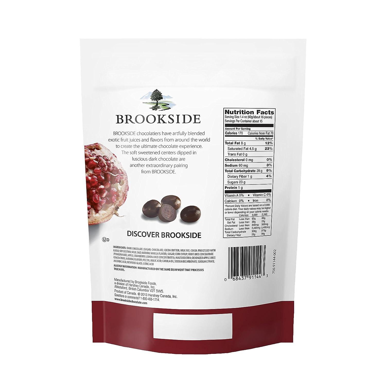 Brookside Dark Chocolate Almonds Nutrition Image Gallery - HCPR