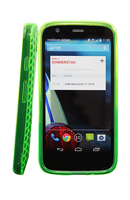 Carcasa Funda para Motorola Moto G – Diferente modelos disponibles: Simple silicona, diamante, Inner Scrub, TPU, funda rígida, piel sintética Diamant ...