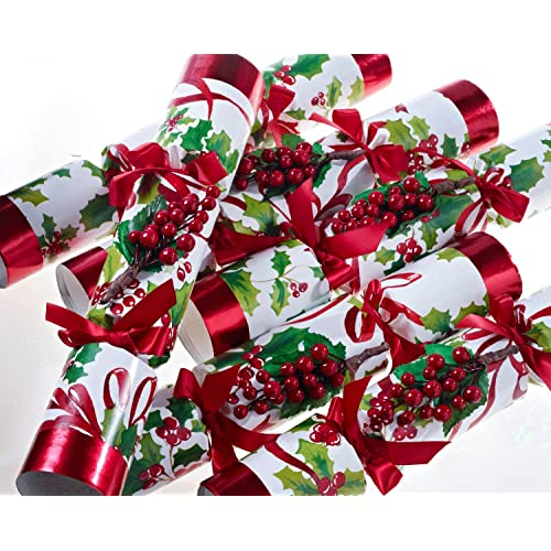 christmas crackers 6 x 12 winter berry tradition by robin reed