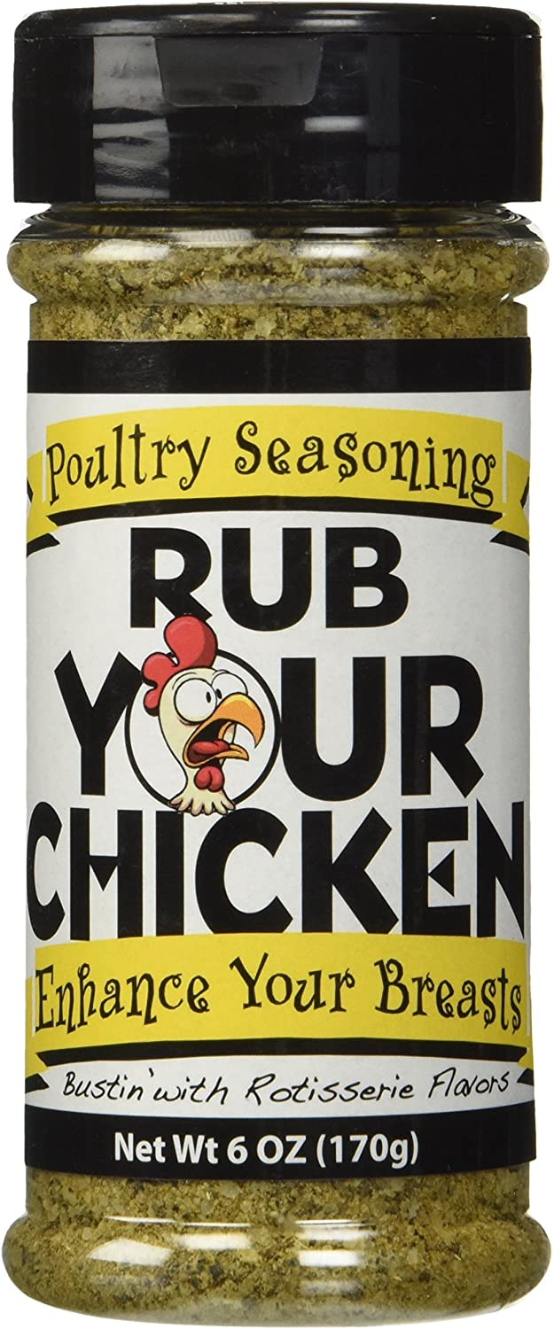 OLD WORLD SPICES & SEASONINGS Rub Your Chicken 6oz