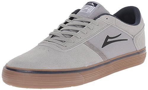 Zapatillas Lakai: Vincent High Rise Suede GR, Gris, 40.5: Amazon.es: Zapatos y complementos