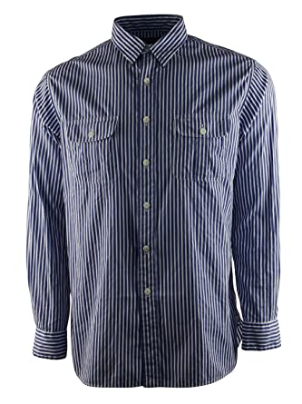 f105a8ac9 Polo Ralph Lauren Men s Striped Long Sleeve Poplin Bleecker Shirt-SW ...