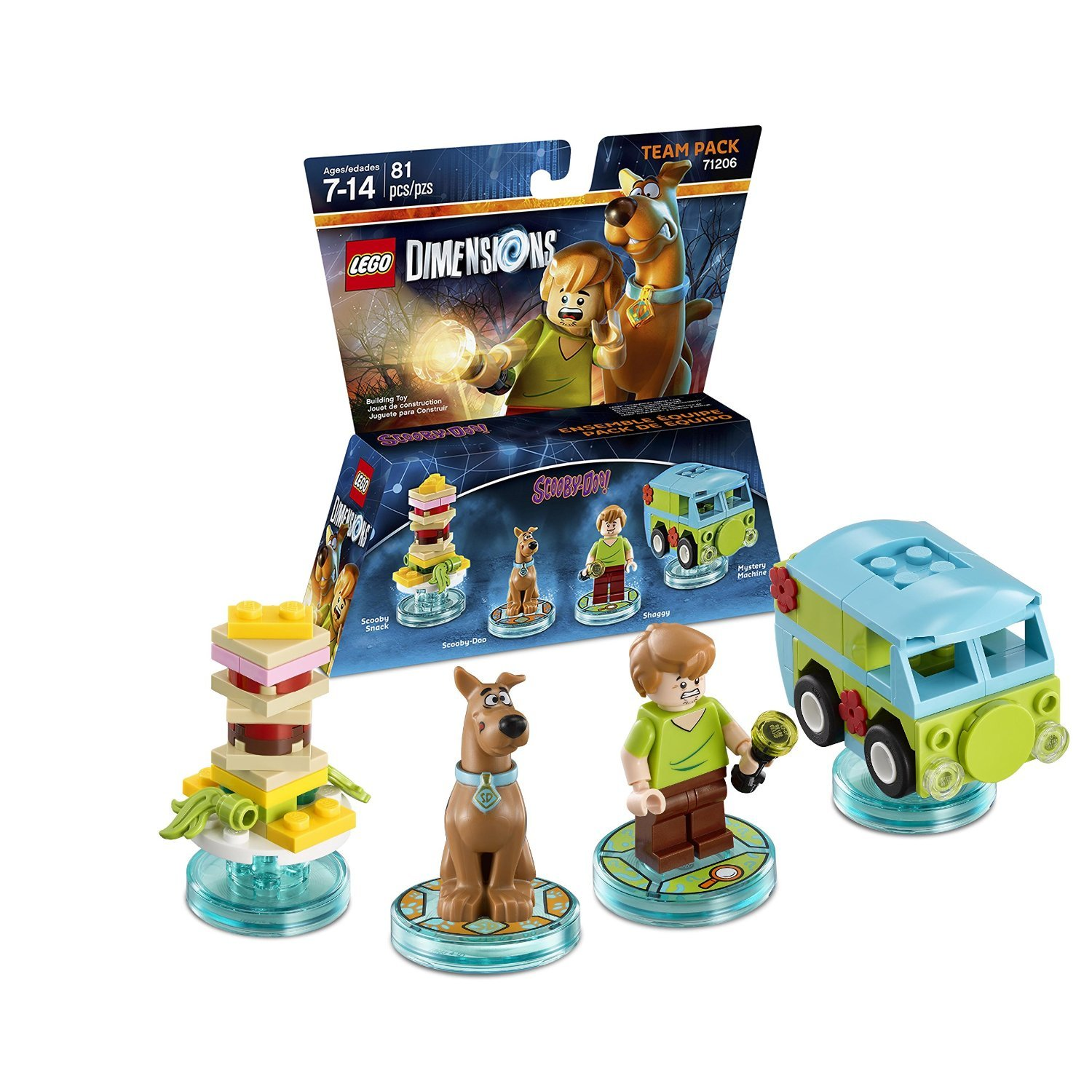 Ninjago Cole & Kai Team Pack + Adventure Time Finn The Human Level Pack + Scooby Doo Team Pack - Lego Dimensions (Non Machine Specific) by WB Lego (Image #4)