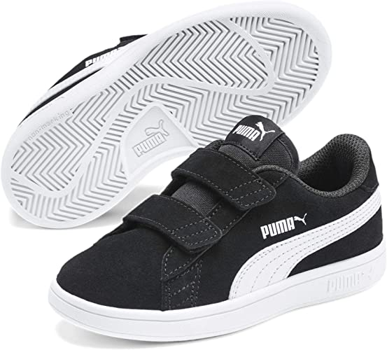 PUMA Smash V2 SD V PS, Baskets Mixte Enfant, Gray Violet